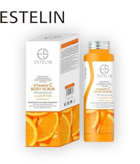 Estelin Skin Care Vitamin C Body Scrub 2