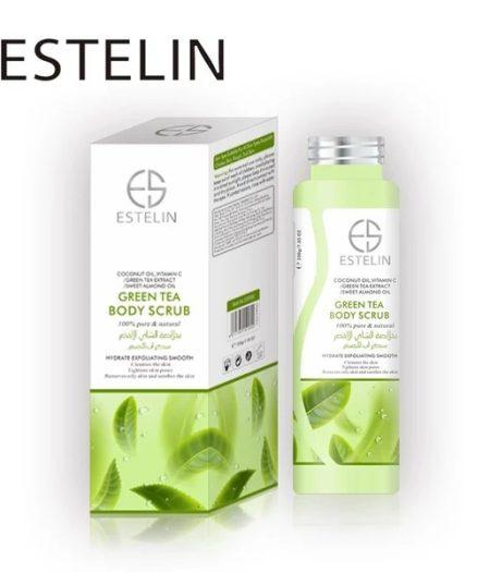 Estelin Skin Care Green Tea Body Scrub 2