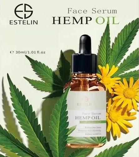 Estelin Hemp Oil Face Serum to Reduce Fine Lines & Wrinkles 30ml 1