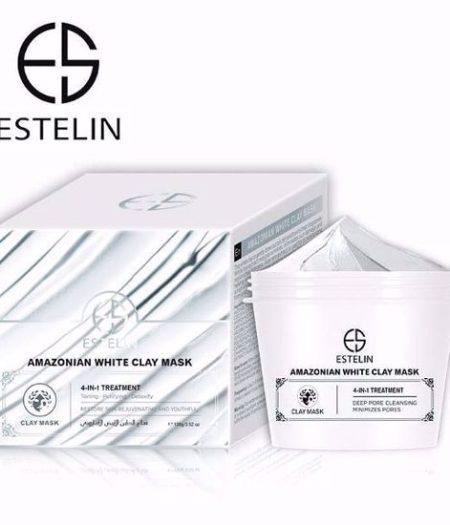 Estelin Amazonian White Clay Mask 100g
