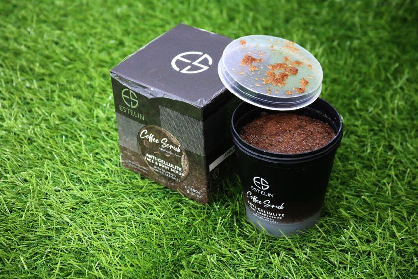 Estelin Coffee Body And Facial Scrub With Olive Oil And Vitamin E 280g