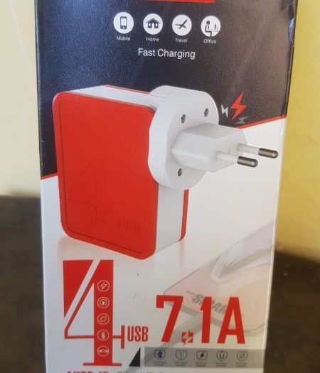 7.1 A Charger 4 USB Ports Charger Fast Wall Charger 2