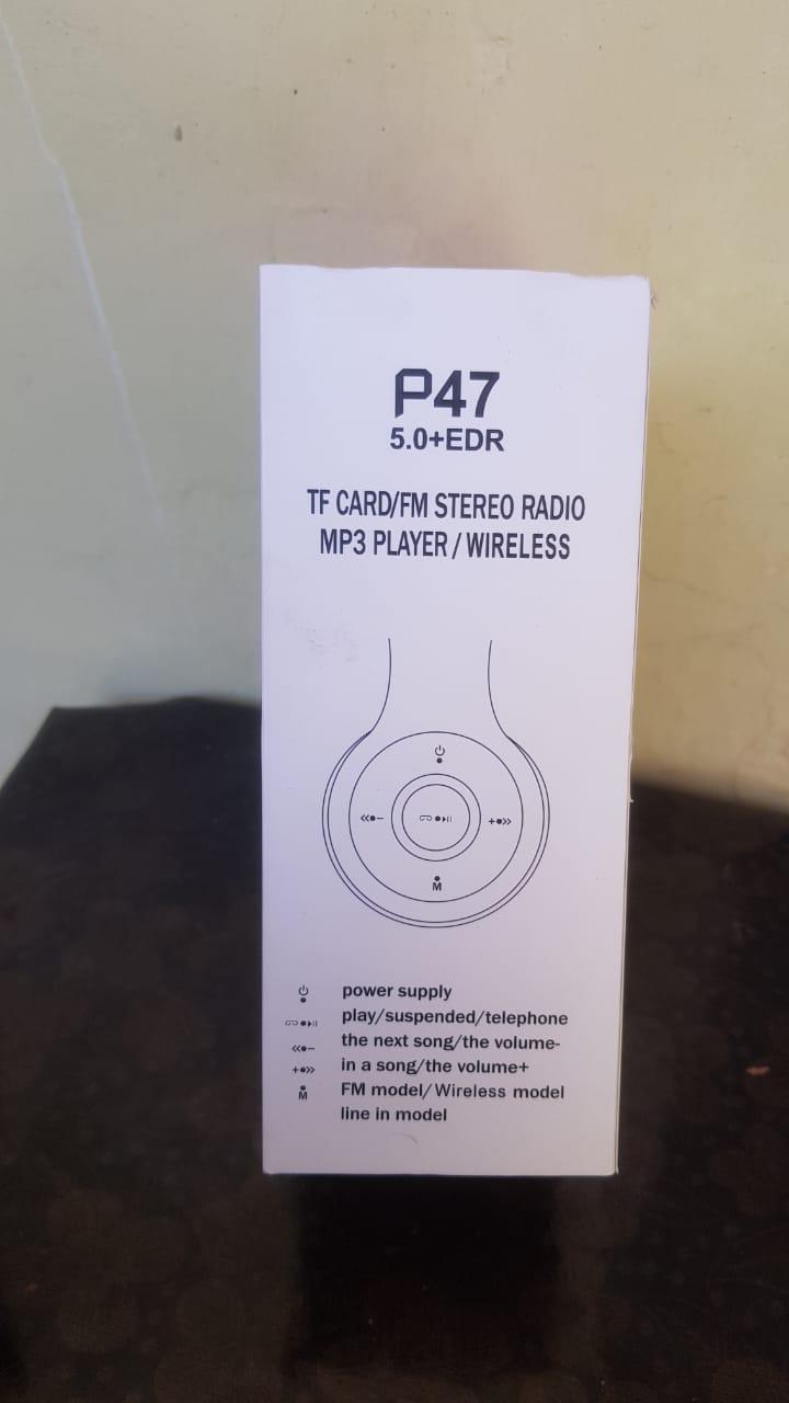 Wireless Headphones Bluetooth Stereo 3