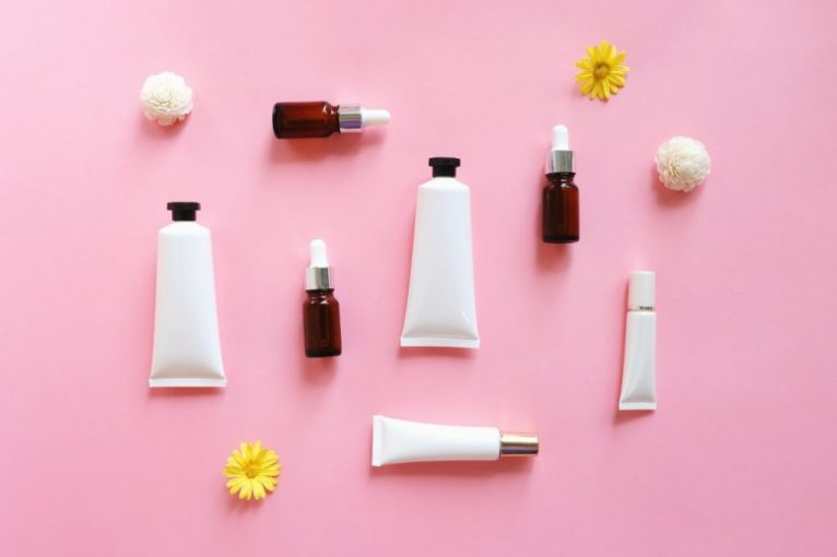 Skin Care Cosmetic Products In The Cold Season