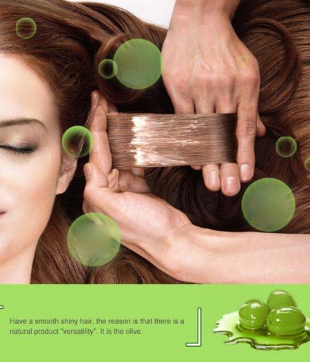 BIOAQUA Olive Oil Repair Hair Mask for Dry & Damaged Hair 500g 2