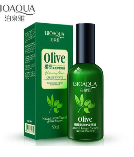 BIOAQUA Olive Hair Care Treatment Essential Oil 50ml 1