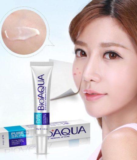 BIOAQUA Face Cream Skin Care Acne Treatment 30g 2