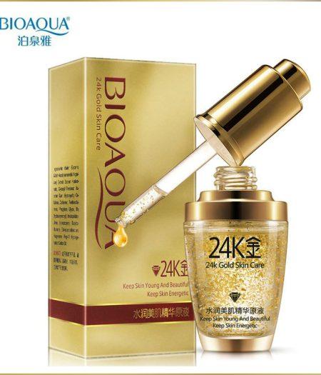 BIOAQUA 24K Gold Essence Serum For Women Face Skin Care Anti Aging 30ml 1