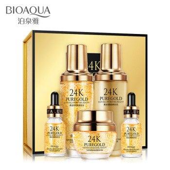 BIOAQUA 24k Gold Hyaluronic Anti Aging Face Firming Essence 1