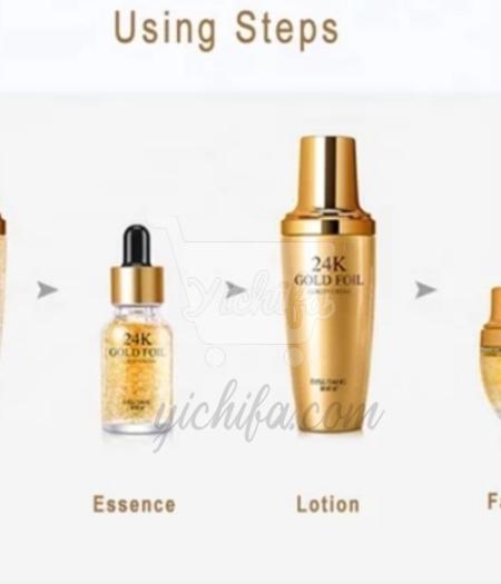 BIOAQUA 24k Gold Hyaluronic Anti Aging Face Firming Essence