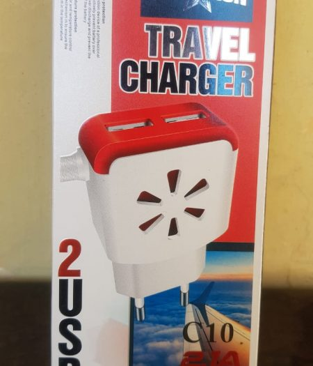 Champion Mobile Phone 2 USB Charger 4