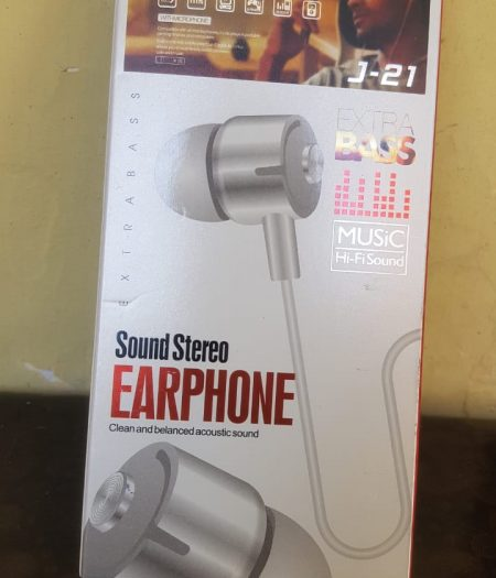 J-Cell EarPhone Hand Free Extra Base 1