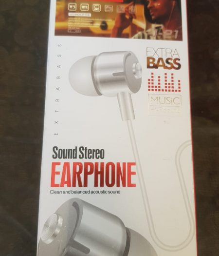 J-Cell EarPhone Hand Free Extra Base