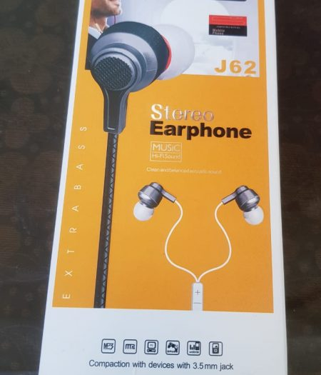 J-Cell Stereo Sound EarPhone HandsFree Extra Bass 1
