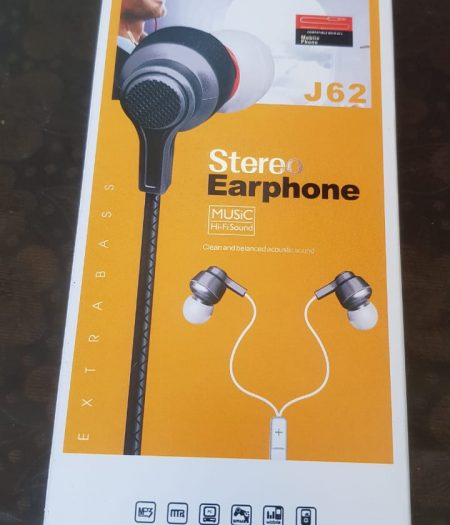 J-Cell Stereo Sound EarPhone HandsFree Extra Bass