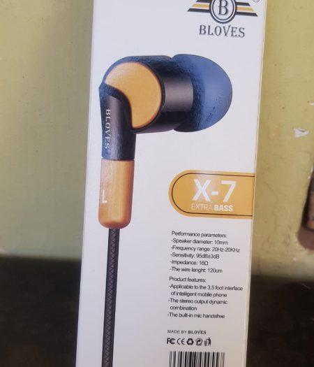 BLoves HandFree Music Stereo EarPhone