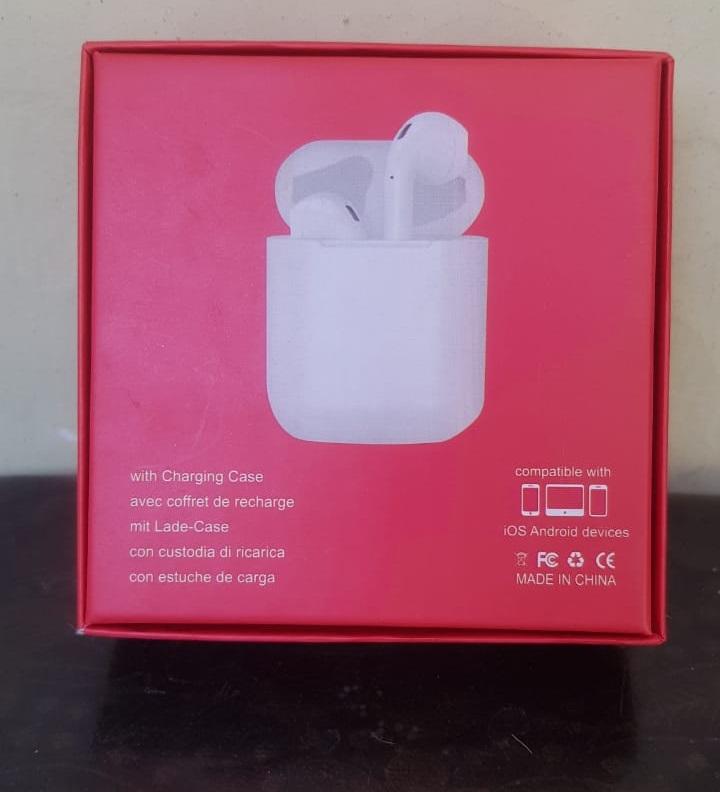 TWS i12 Wireless Bluetooth Air Handfree With Charging Box 1