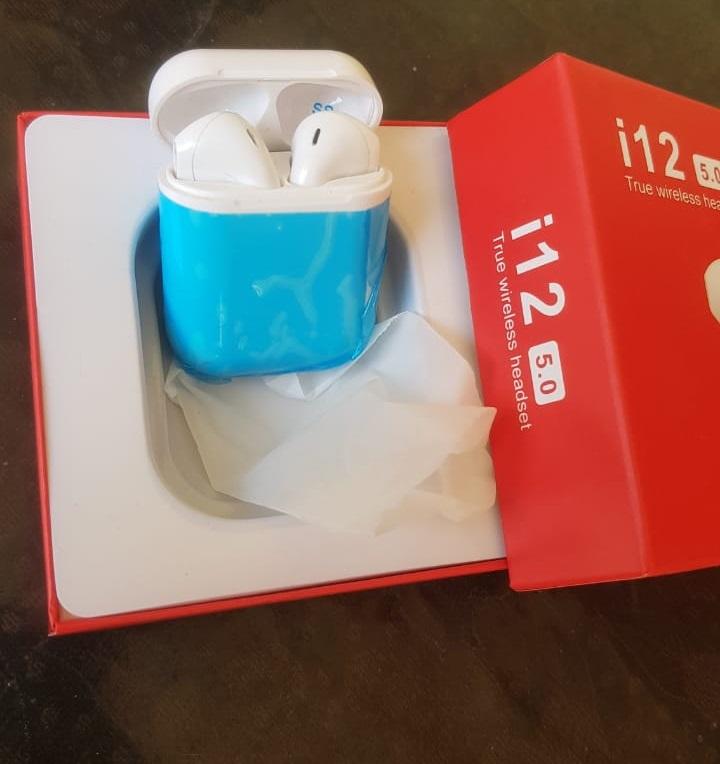 TWS i12 Wireless Bluetooth Air Handfree With Charging Box 2