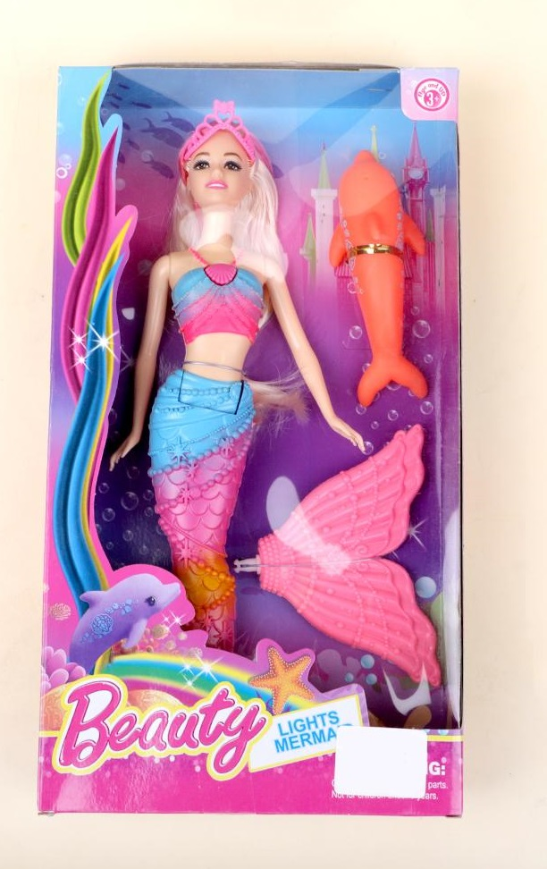 Defa Lucy Barbie Mermaid Doll 2