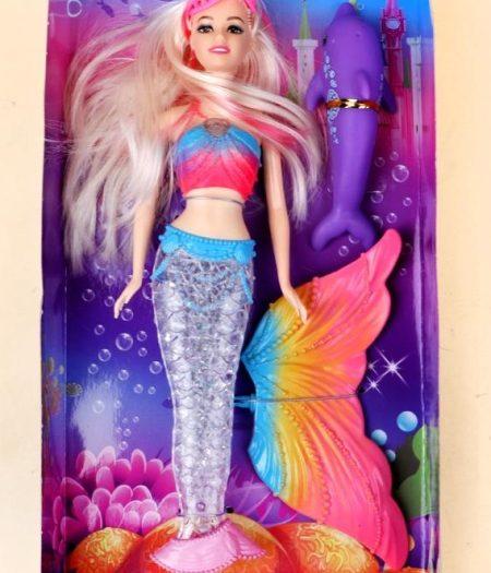 Defa Lucy Barbie Mermaid Doll 4