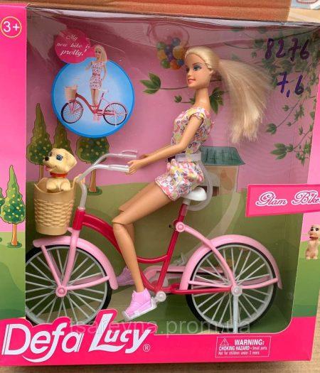 Defa Lucy Barbie Glam Bicycle Doll 1