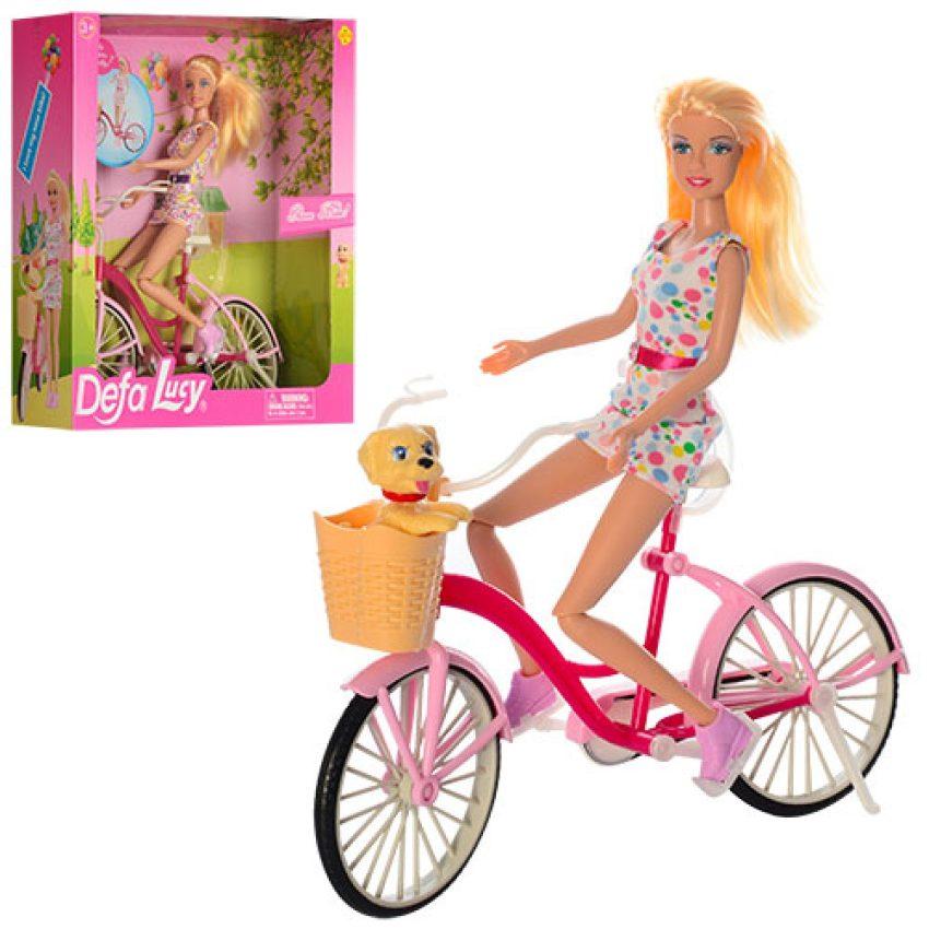 Defa Lucy Barbie Glam Bicycle Doll 2