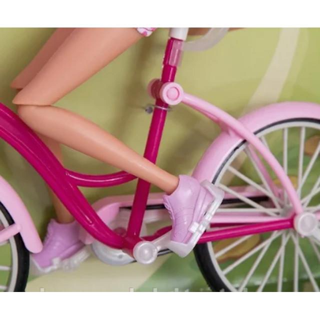 Defa Lucy Barbie Glam Bicycle Doll 3
