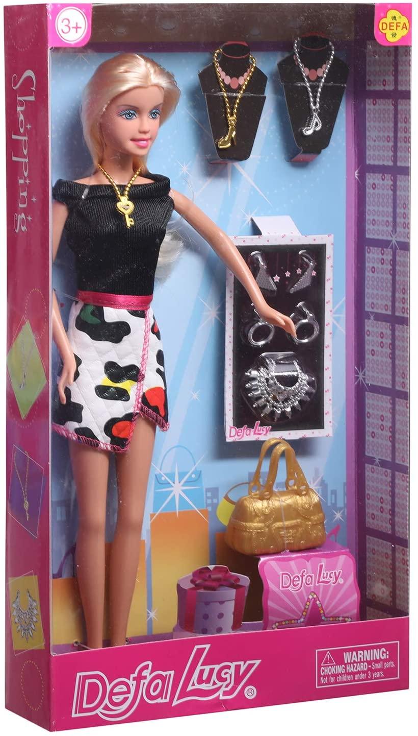 Defa Lucy Fashionist Barbie Doll 2