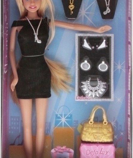 Defa Lucy Fashionist Barbie Doll 4