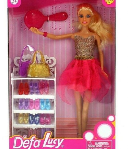 Defa Lucy Barbie Doll with Many Accessories 2