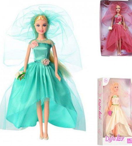 Defa Lucy Beautiful Bride Barbie Doll 2