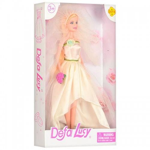 Defa Lucy Beautiful Bride Barbie Doll 3