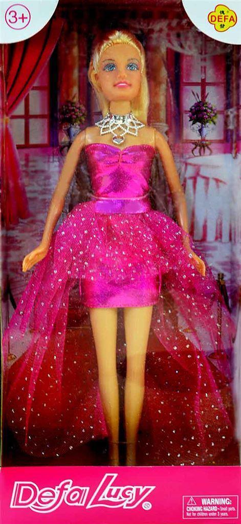 Defa Lucy Lovely Princess Barbie Doll 2