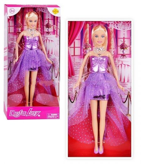 Defa Lucy Lovely Princess Barbie Doll 5