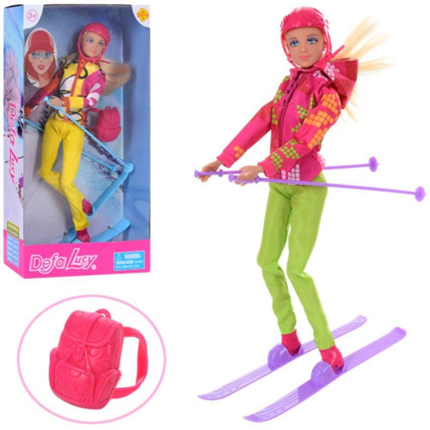 Defa Lucy Barbie Snow Skating Doll 2