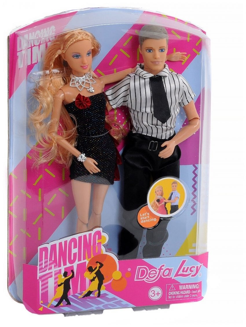Defa Lucy Dancing Barbie Doll Couple 1