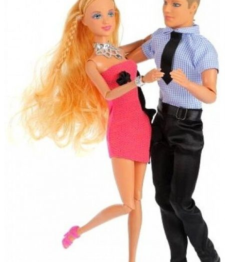 Defa Lucy Dancing Barbie Doll Couple 4