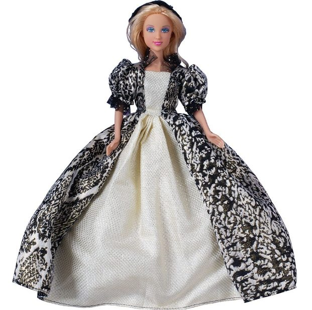 Defa Lucy Beautiful Dress Princess Barbie Doll 2