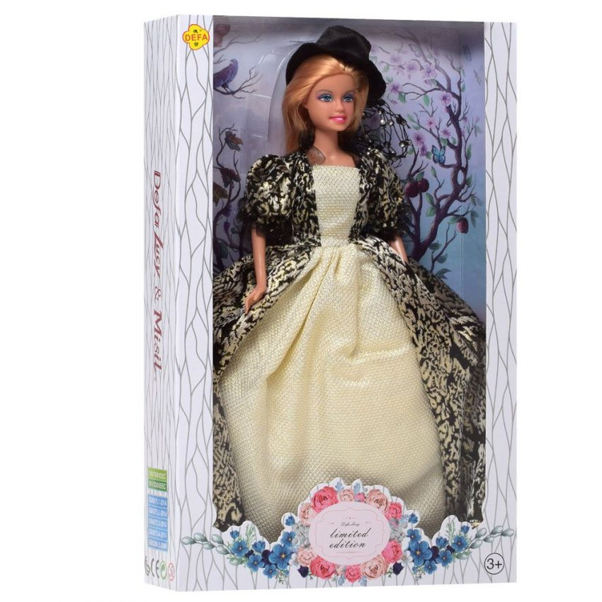Defa Lucy Beautiful Dress Princess Barbie Doll 3