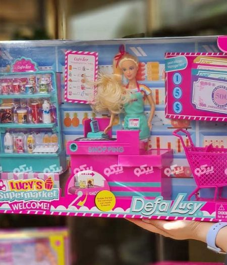Defa Lucy Barbie Doll SuperMarket with Accessories 2