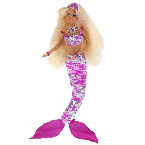Defa Lucy Mermaid Barbie Doll 1