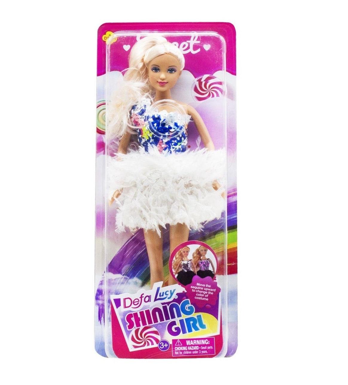 Defa Lucy Barbie Shining Girl Doll 3