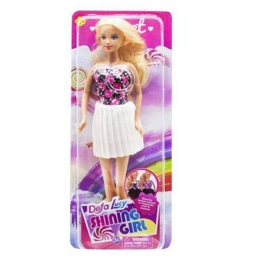 Defa Lucy Barbie Shining Girl Doll 4