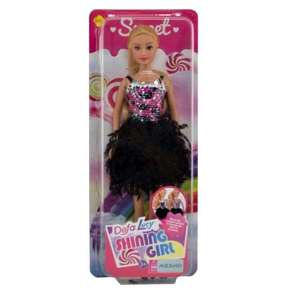 Defa Lucy Barbie Shining Girl Doll 5