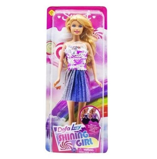 Defa Lucy Barbie Shining Girl Doll 1