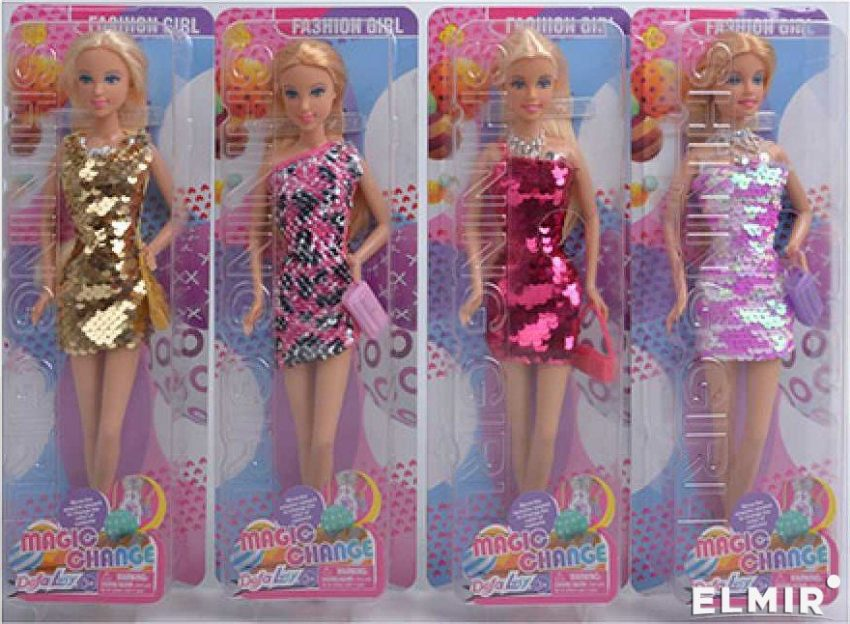 Defa Lucy Barbie Magic Change Dress Doll 4