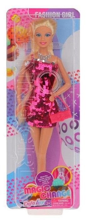 Defa Lucy Barbie Magic Change Dress Doll 5