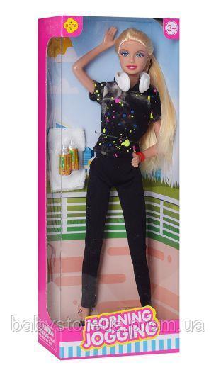 Defa Lucy Barbie Morning Jogging Doll 2
