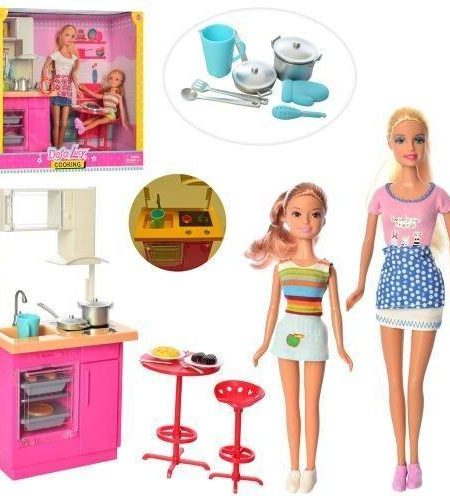 Defa Lucy Barbie Doll with Kitchen Accessories 2