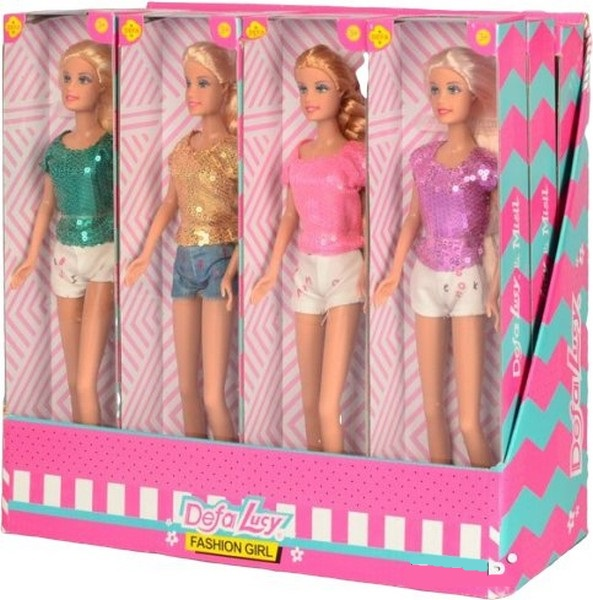 Defa Lucy Barbie Fashion Girl Doll 2